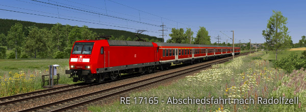 RE 17165: Offenburg - Radolfzell